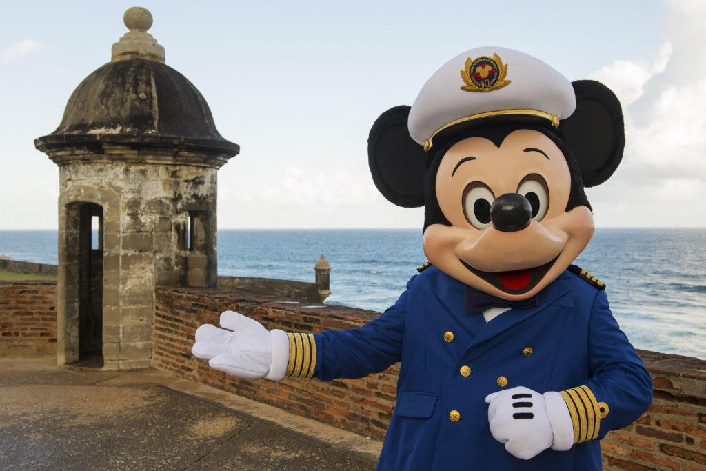San Juan de Puerto Rico es una de las paradas más lindas de Disney Cruise.