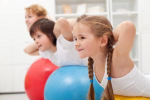 actividad en la infancia