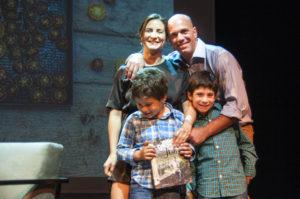 Juliana Lopez May y familia