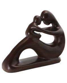Madre e hijo Escultura