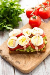 Tomate y huevo