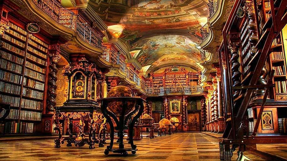 Bibliot de Praga