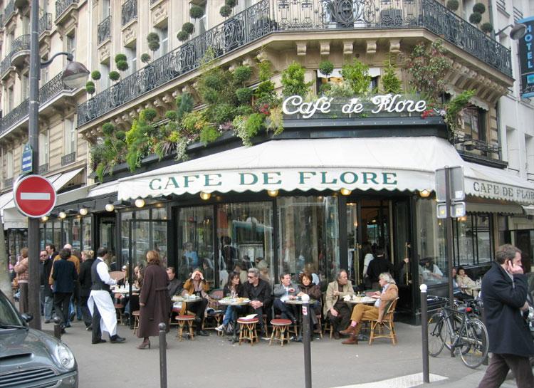 Café de Flore 172 Boulevard Saint-Germain