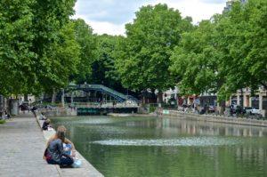 Canal St Martin, París
