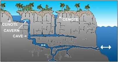 qué es un cenote