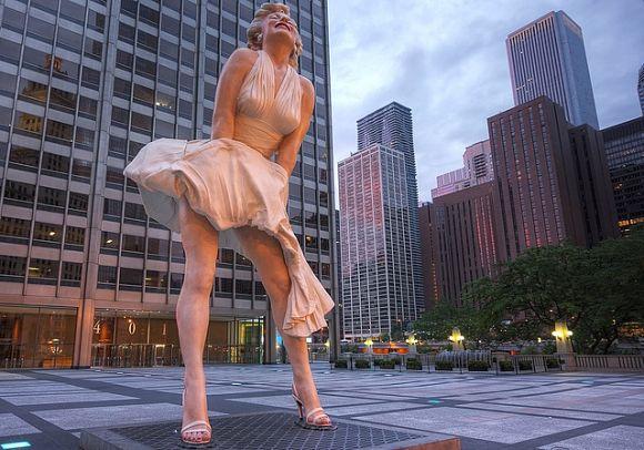 Escultura-Marilyn-Monroe