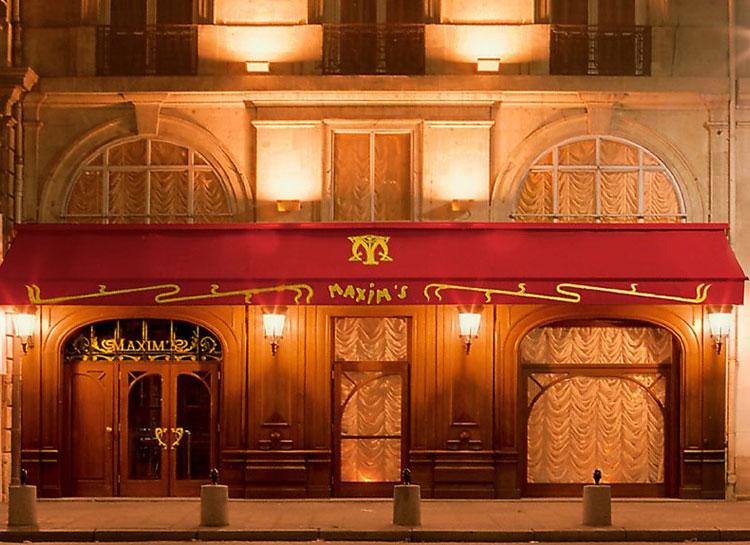 Maxim's de París 3 Rue Royale