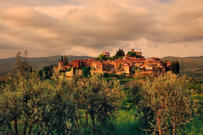 Montefioralle, pura esencia medieval