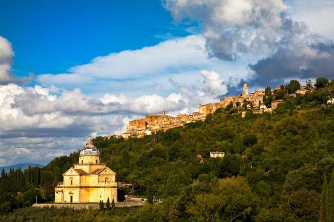 Montepulciano, la lucha entre lo medieval y lo renacentista