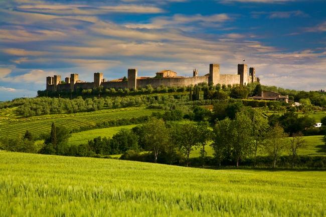 Monterrigioni, 'La vida es bella'