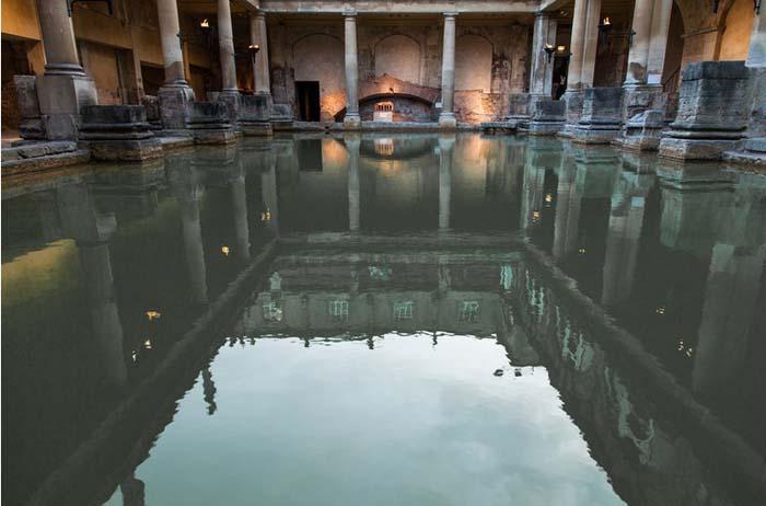 Baños Romanos De Bath:Hot Springs Bath England