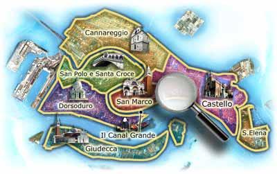 Venecia y los sestiere