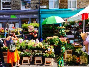 Shoreditch, london-flower-market
