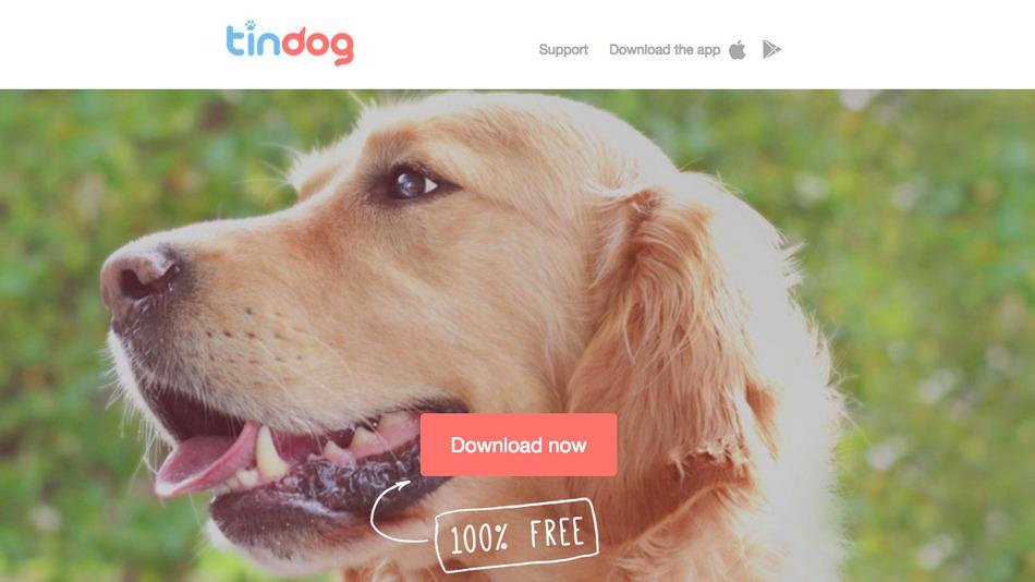Tindog_homepage