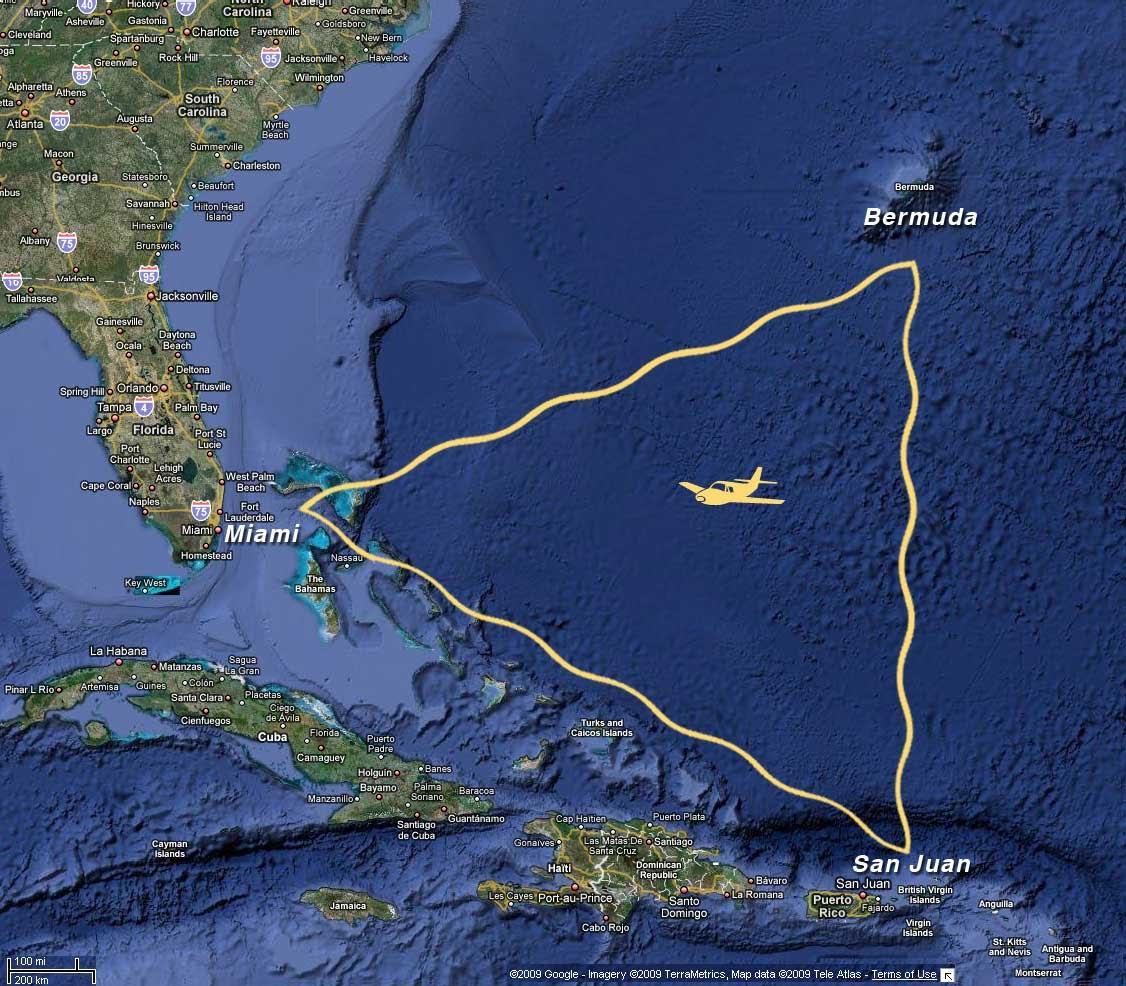 Triángulo de las Bermudas mito