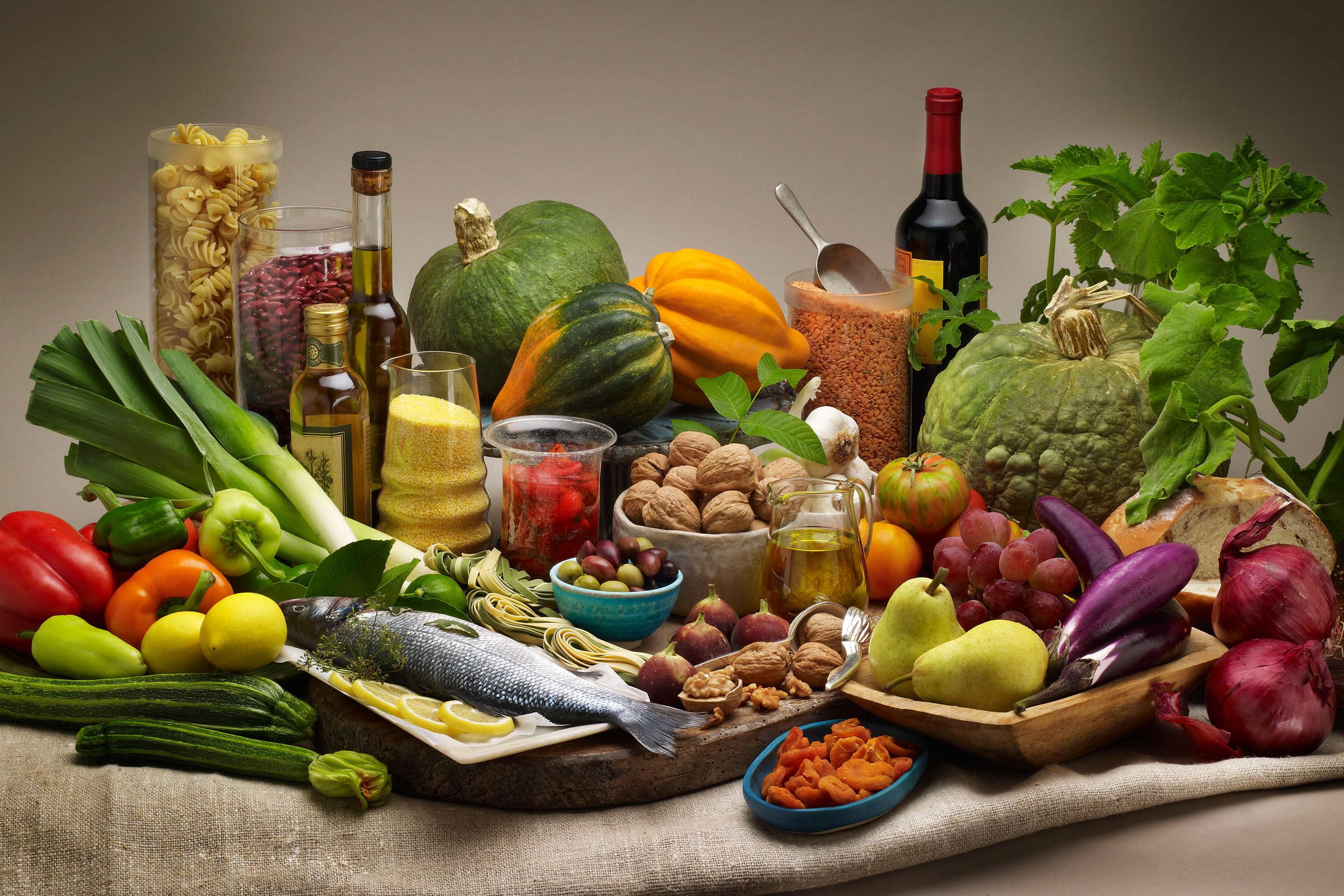 Resultado de imagen para dieta mediterranea imagenes