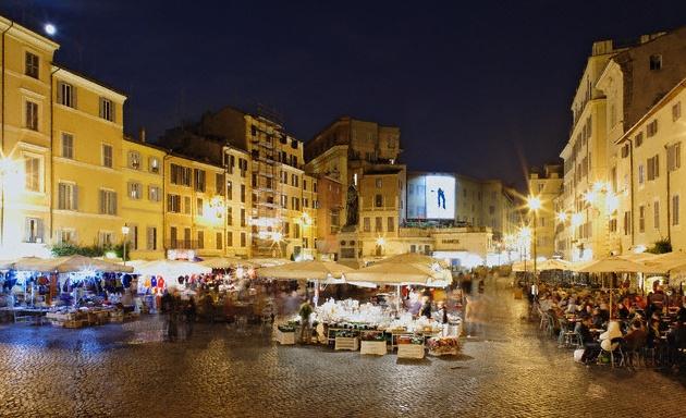 Mercado Campo Di Fiori Roma
