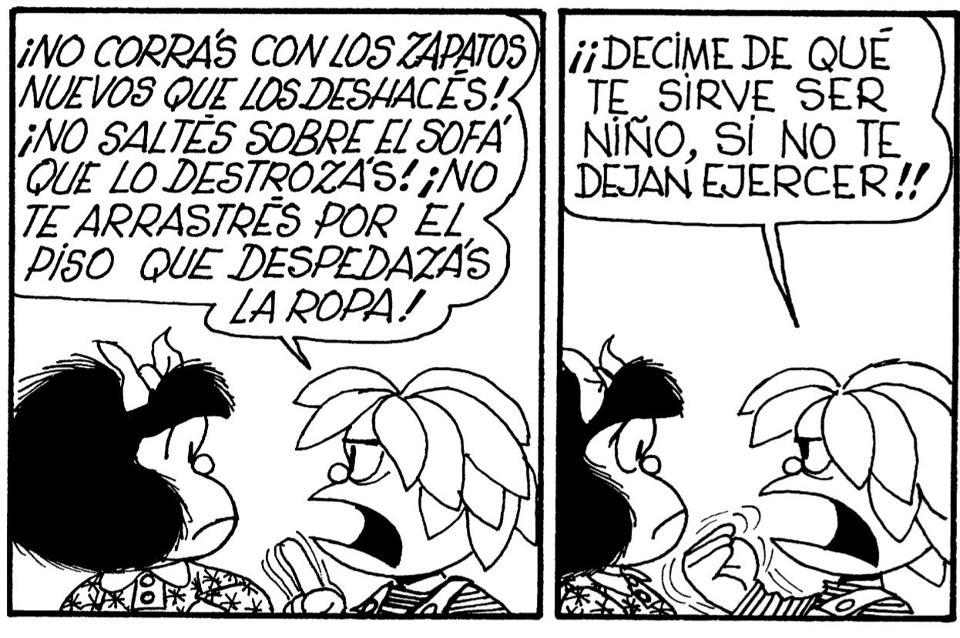 Mafalda infancia