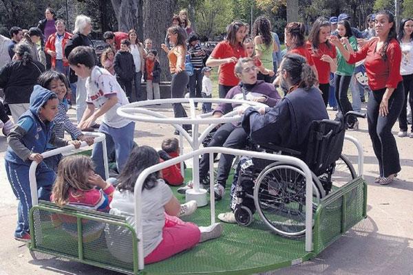 parques para discapacitados