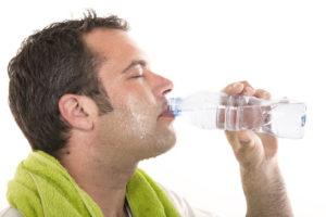 entrenar / hidratación