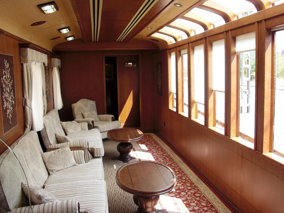 Tren transcant brico lujo sobre rieles en espa a buena - Salones de lujo ...