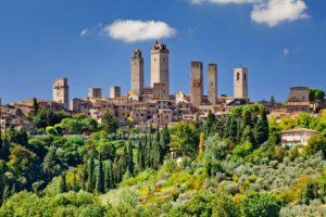 recorrido por la Toscana