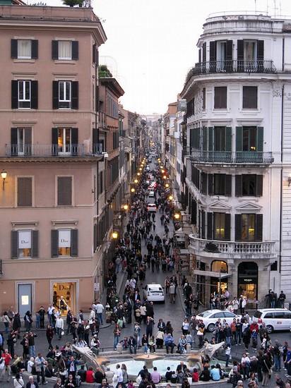 Via Condotti Roma