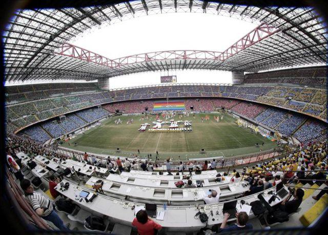 mejores estadios de Italia