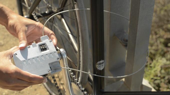 Bicicleta Pedal Lock