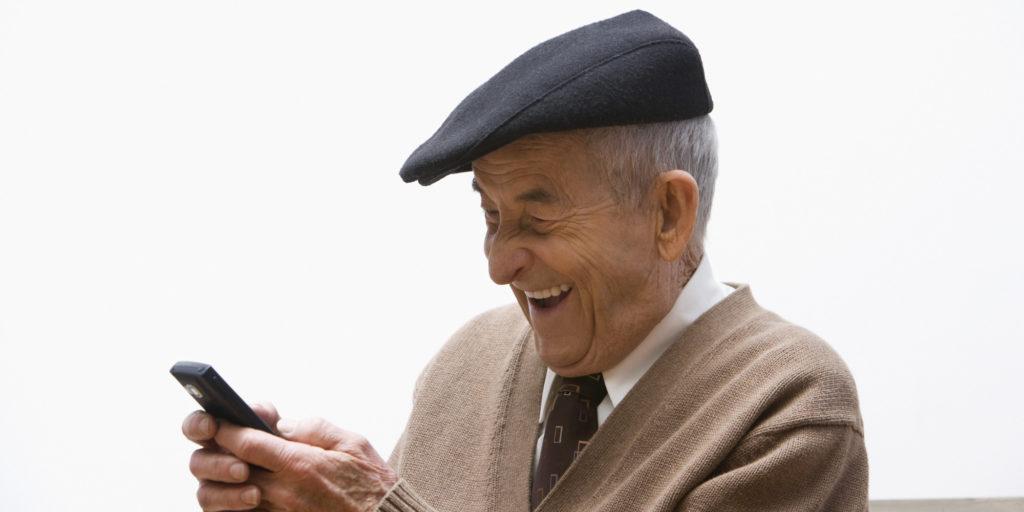 adulto mayor / tecnología / viejo