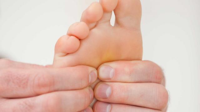 artritis / dolor / pie