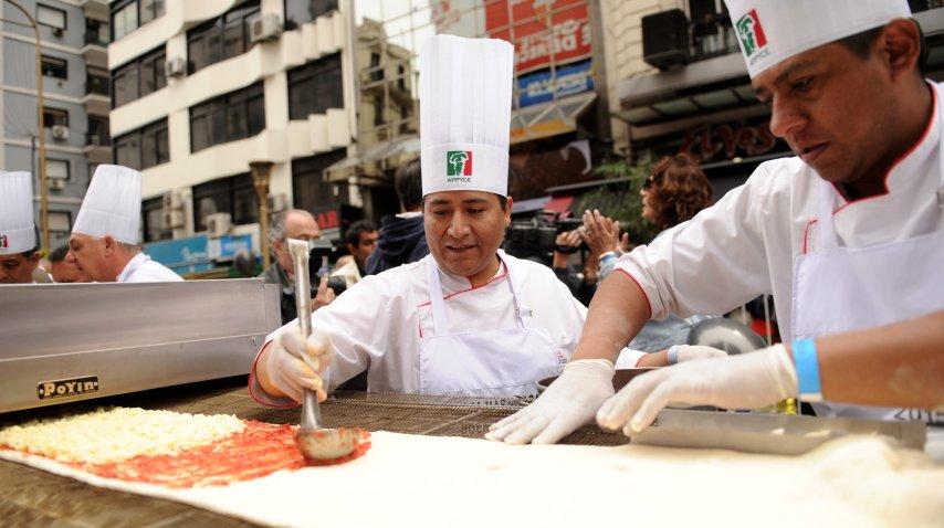 pizza larga