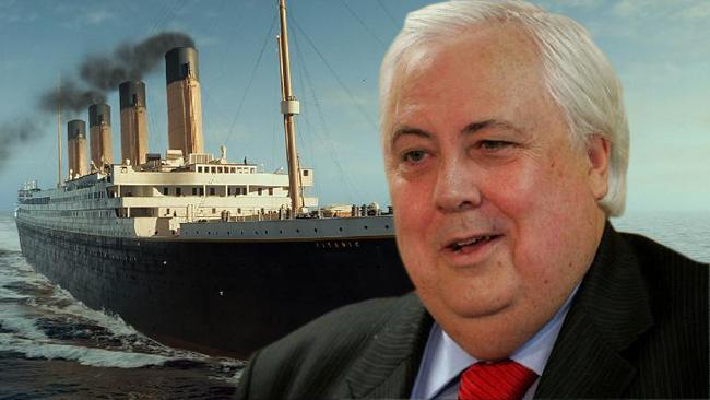 Excéntrico Clive Palmer