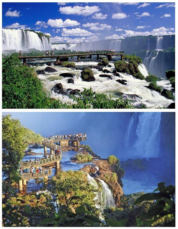 Pasarela de las Cataratas de Iguazú, Argentina