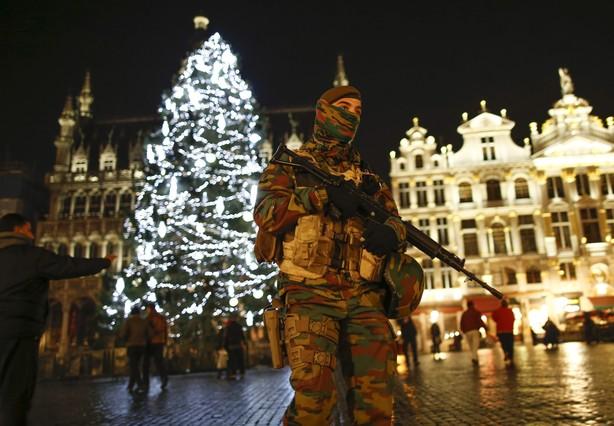 Bruselas en alerta máxima