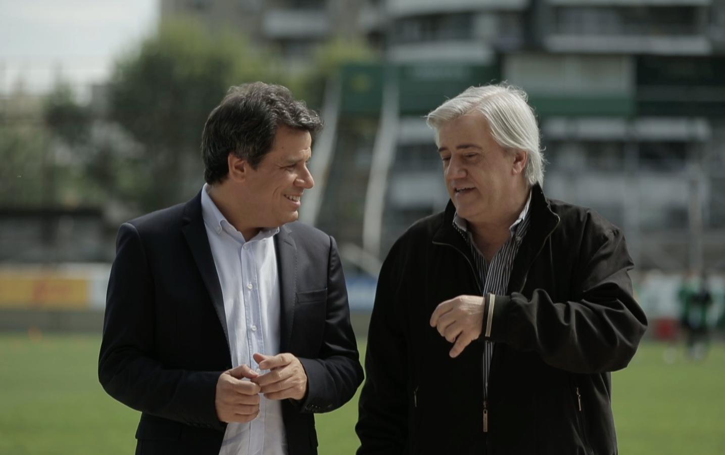 Facundo Manes y Alejandro Fabri