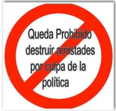 prohibido destruir aistades
