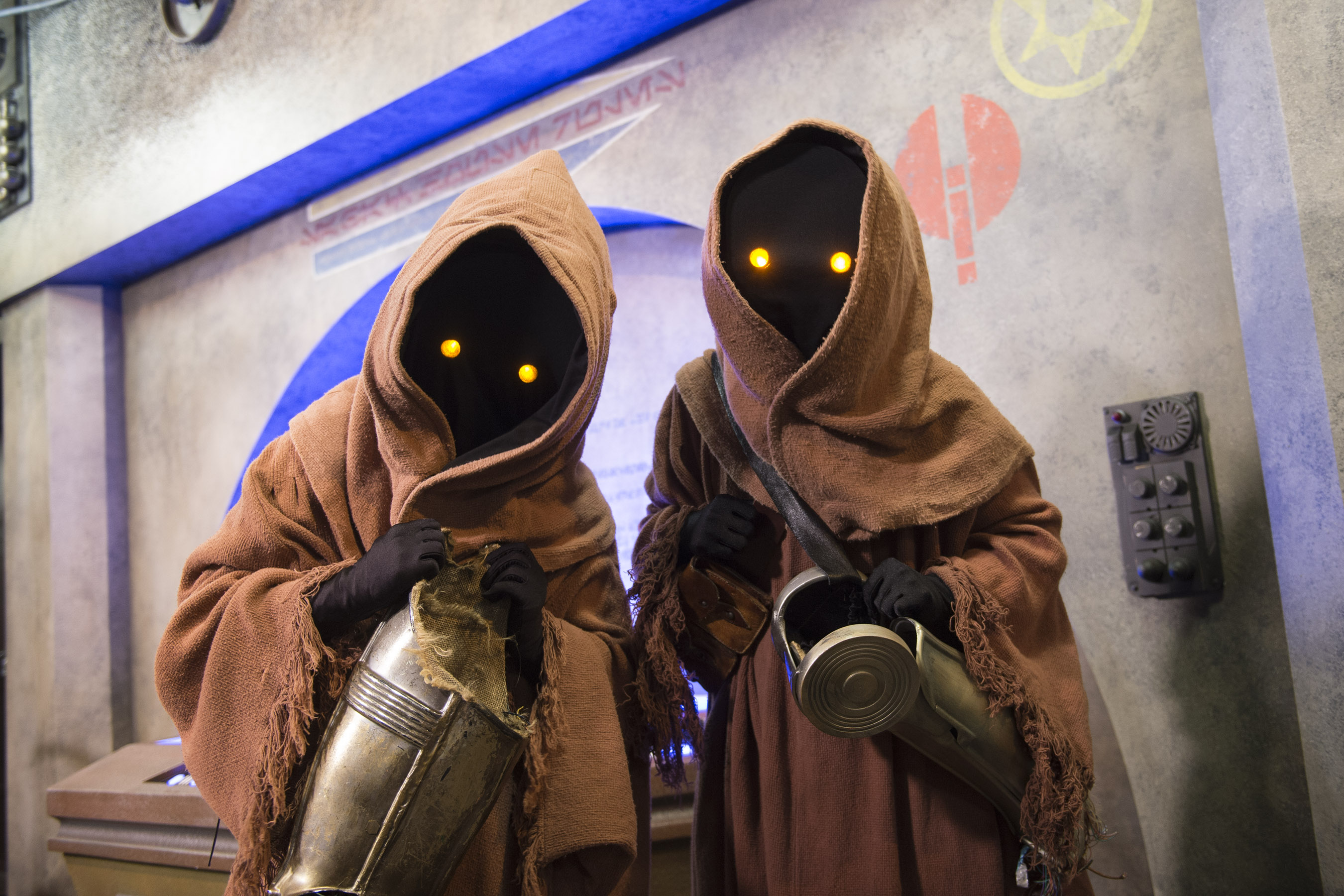 Star Wars Launch Bay is the central locale for guests to celebrate all things Star Wars at Disney's Hollywood Studios at Walt Disney World Resort. Inside, guests may encounter beloved Star Wars characters, play the latest Star Wars interactive video games, explore galleries full of treasured memorabilia and authentic replicas of large-scale Star Wars artifacts, including ones from Star Wars: The Force Awakens, and have access to Star Wars merchandise. (David Roark, photographer)