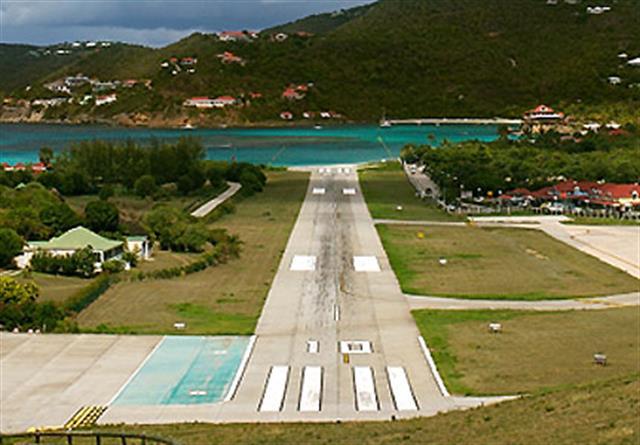 Aeropuerto Gustaf III - St. Bart