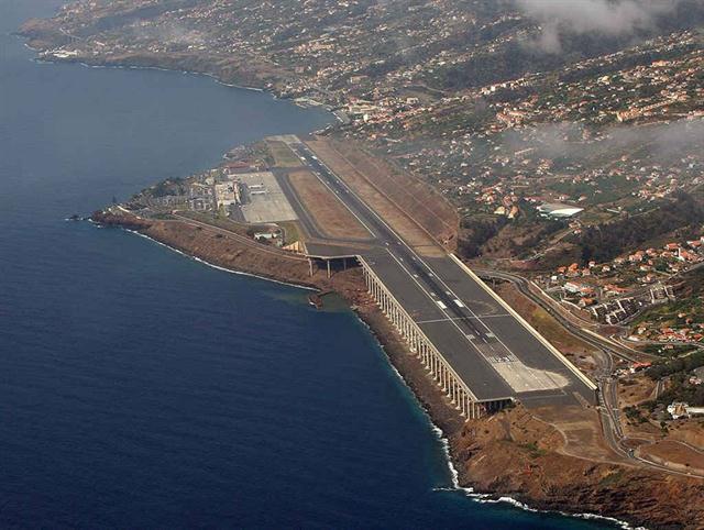 Aeropuerto de Madeira, Portugal