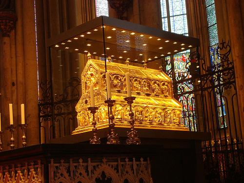 El relicario de los Reyes Magos en la Catedral de Colonia