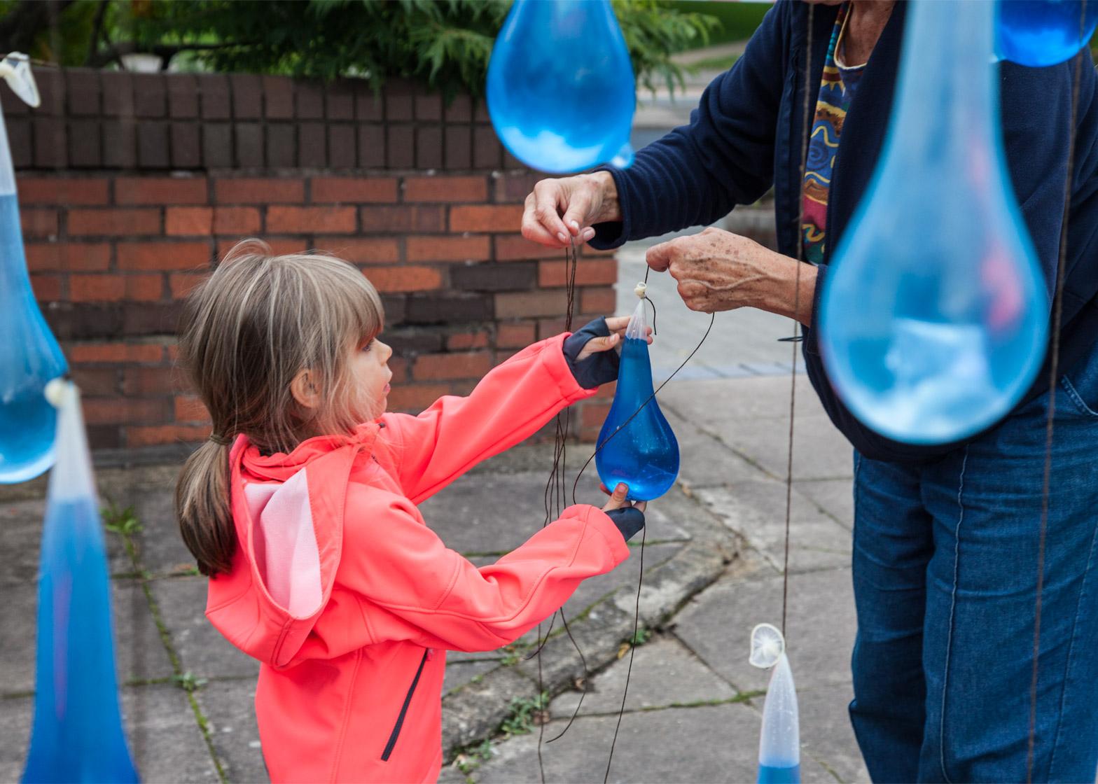 Luz-Interruptus_Rain-Interactive-installation_Condoms_Waterman-Arts-Centre_London6