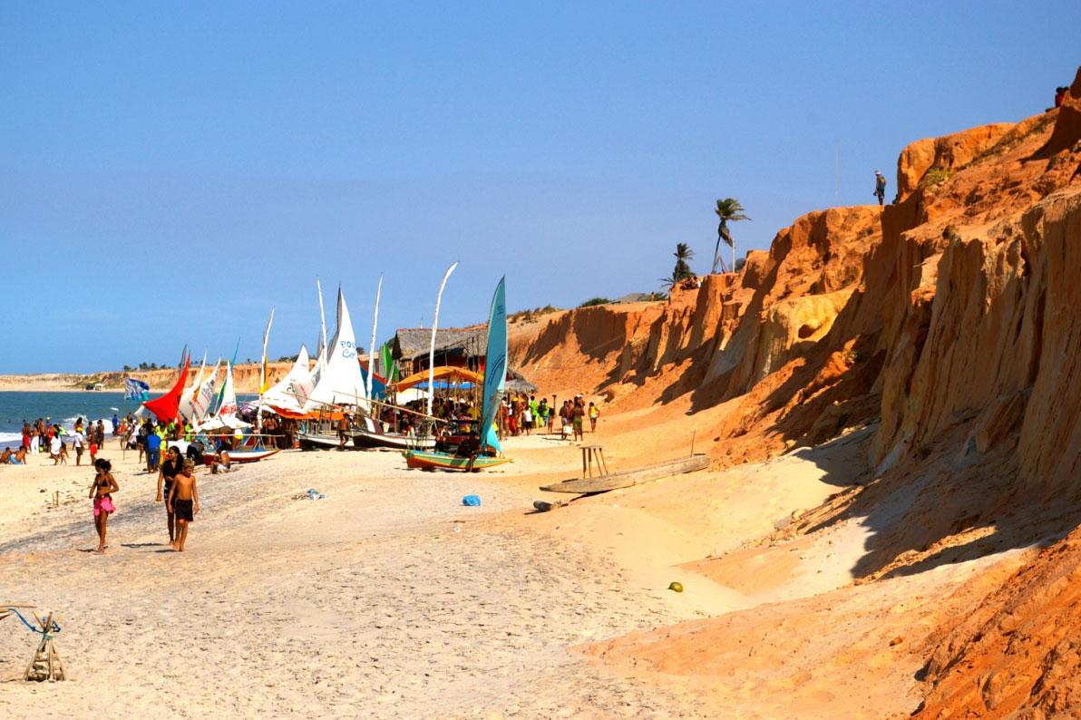 playas del nordeste brasilero