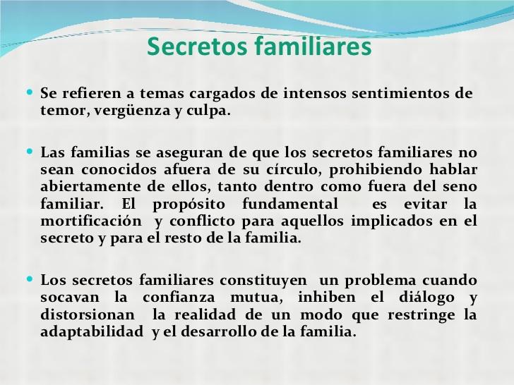 secretos familiares