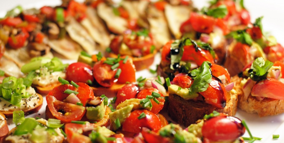 bruschetta vegetariana