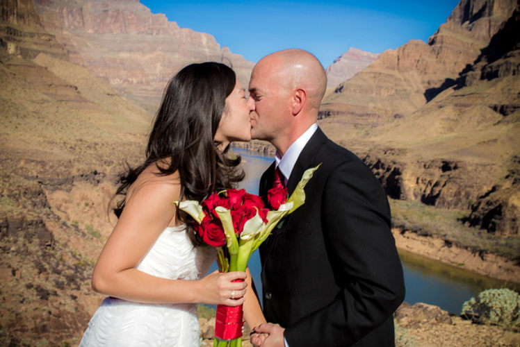 boda en Gran Cañon