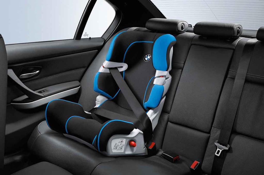 Las butacas se pueden usar desde los 9 hasta los 25 kg. – Foto: BMW