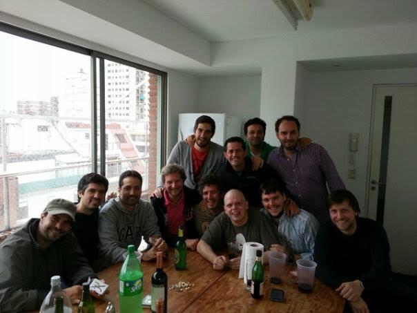 Maxi y sus amigos. Para ellos, sólo agradecimiento