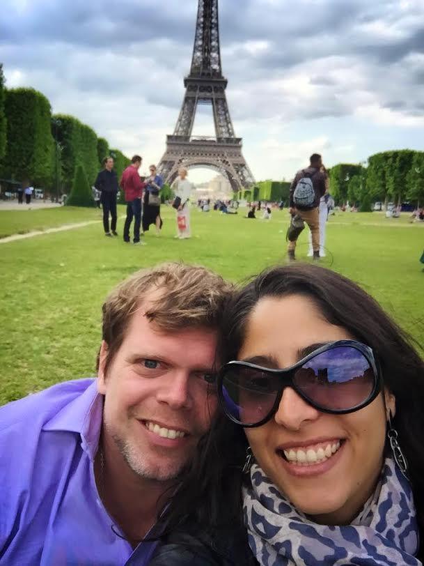 Maxi y Hazel, su gran amor, su futura esposa