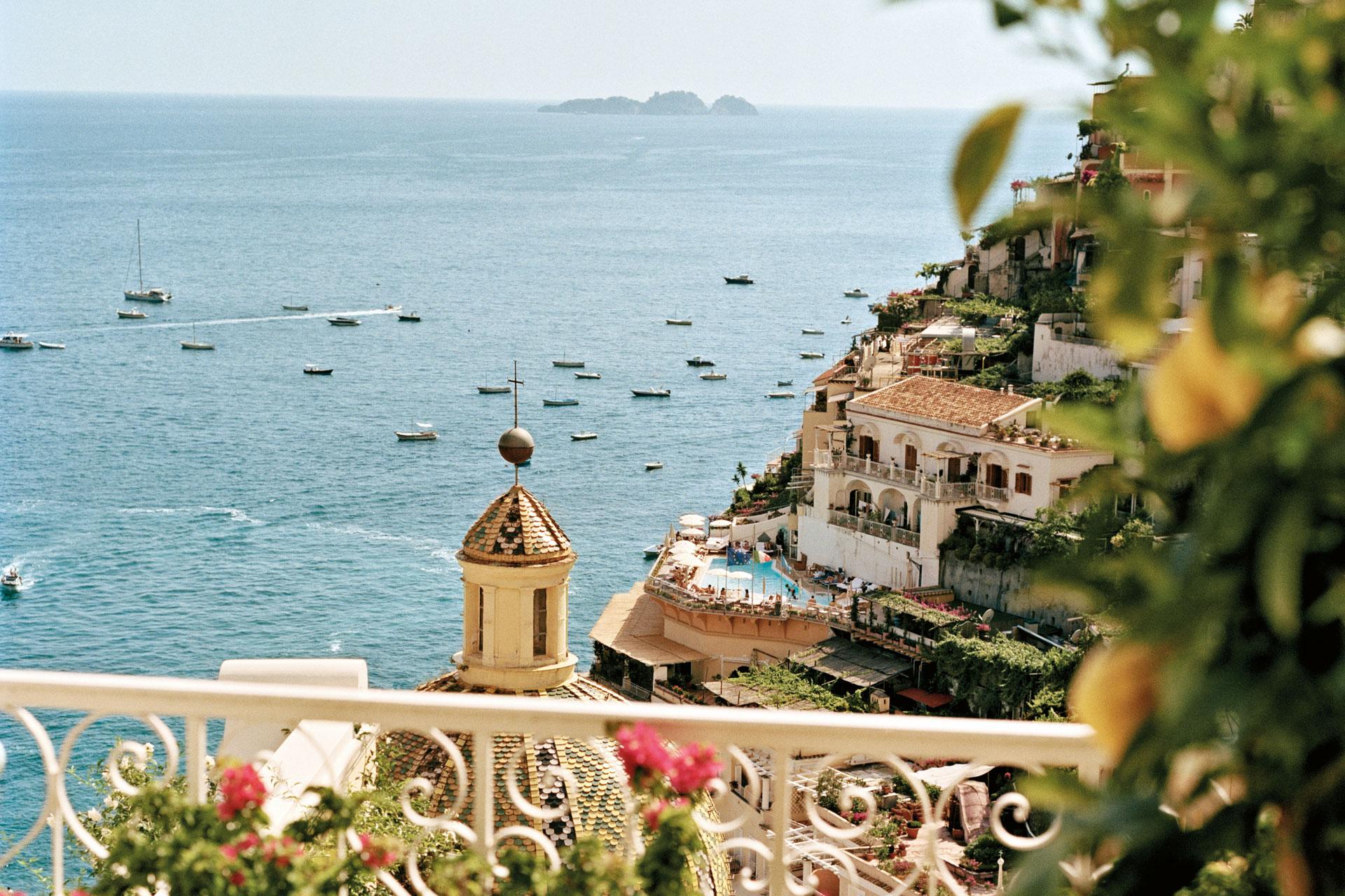 Amalfi en la costa amalfitana